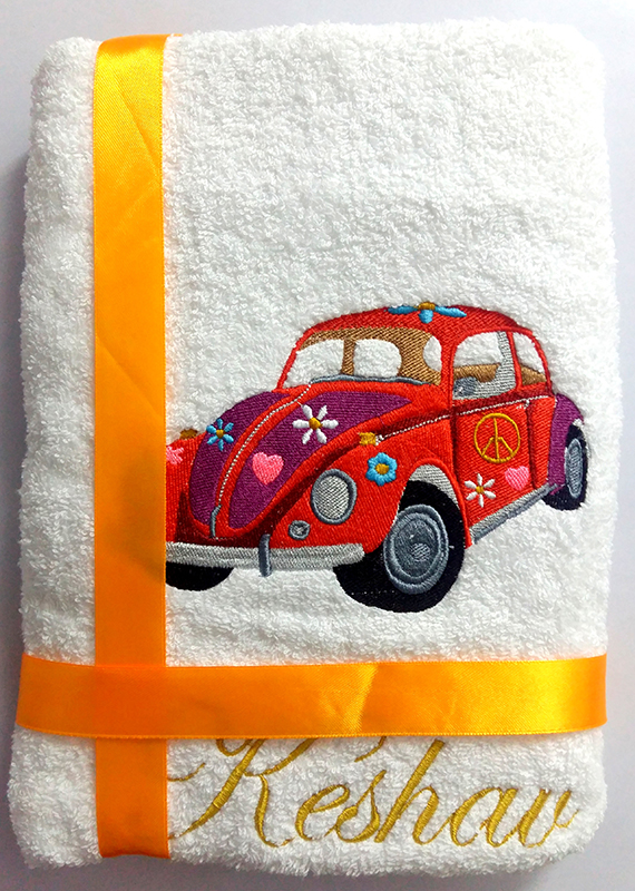 Car And Plane Towels