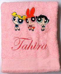 Power Puff Girls Personalised Luxury Towel