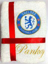 Chelsea Soccer Club Personalised Luxury Towel