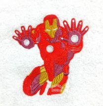 Iron Man Personalised Towel