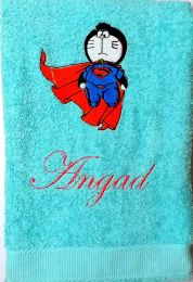Doraemon Superman Personalised Luxury Towel