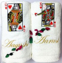 King and Queen of Hearts Couple Set