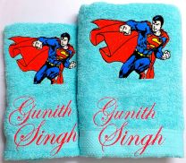 Superman Personalised Towel