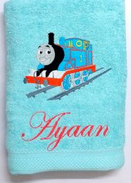Thomas Engine Personalised Luxury Towel