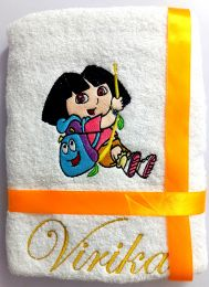 Dora the Explorer Personalised Luxury Towel
