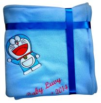Doraemon Luxury Personalised Kids AC Blanket