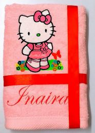 Hello Kitty Personalised Luxury Towel