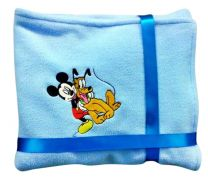 Mickey & Pluto Luxury Personalised Kids AC Blanket