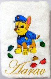 Paw Patrol Personalised Luxury Towel