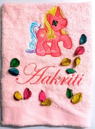 My Little Pony, Pinkie Pie, Personalised Luxury Towel
