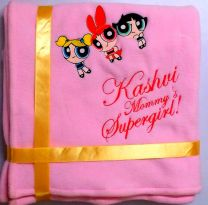 Power Puff Girls Luxury Personalised Kids AC Blanket