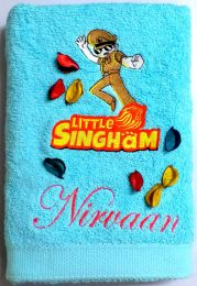 Little Singham Personalised Luxury Towel