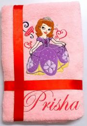 Princess Sophia Personalised Luxury Towel
