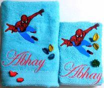 Spiderman Personalised Luxury Towel