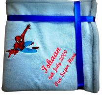 Spiderman Luxury Personalised Kids AC Blanket