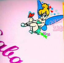 Tinkerbell Luxury Personalised Kids AC Blanket