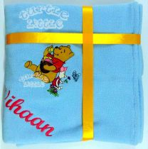 Winnie the Poo Luxury Personalised Kids AC Blanket