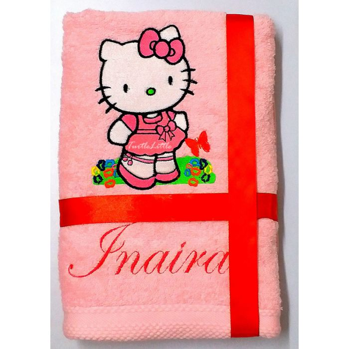 05b0eeb17 Hello Kitty Personalised Luxury Towel